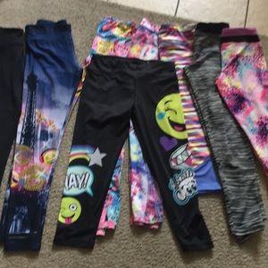 Bundle of 8 leggings size 14-16